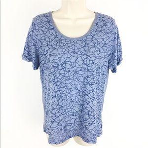Columbia Floral Burnout T-Shirt
